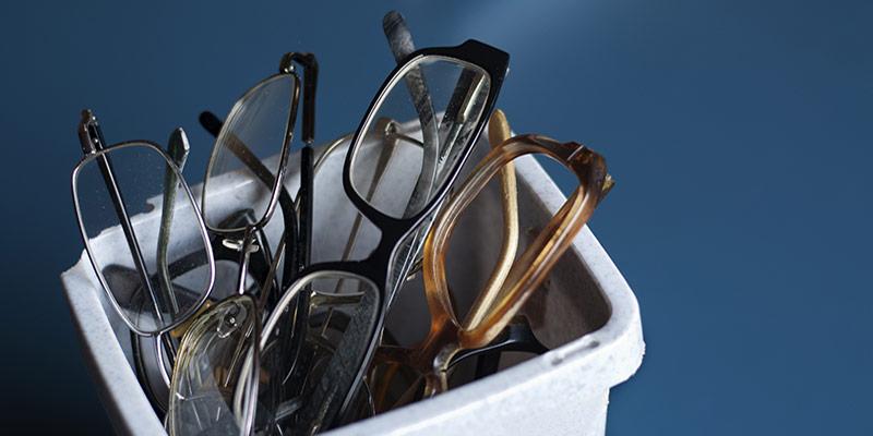 oude brillen inleveren nederland