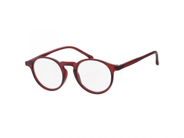 leesbril mees rood
